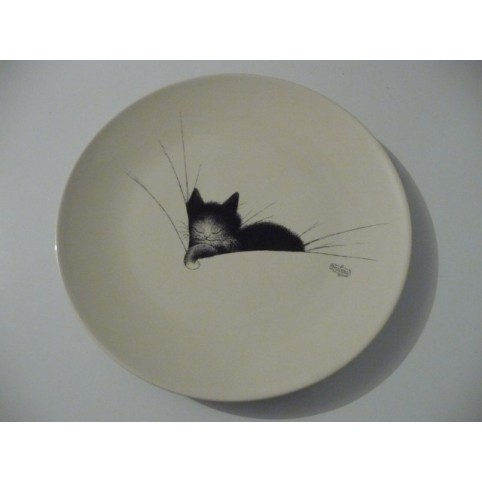 ASSIETTE CHAT DUBOUT GROS DODO