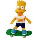 PELUCHE SIMPSONS BART