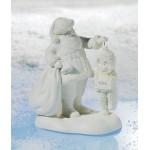 FIGURINE SNOWBABIES ET PERE NOEL