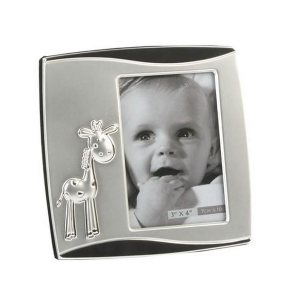 cadre photo b b achat vente de cadre photos argent offrir l 39 occasion d 39 une naissance ou d. Black Bedroom Furniture Sets. Home Design Ideas