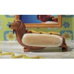 FIGURINE TECKEL HOT DOG