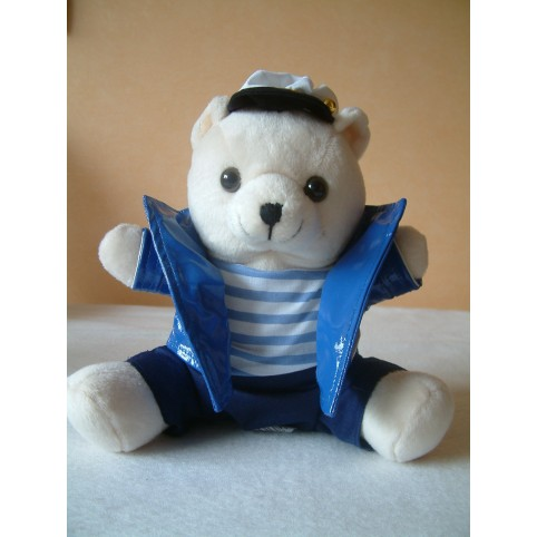 PELUCHE OURS CAPITAINE