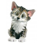 FIGURINE CHAT RIGOLO BELLA