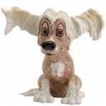 FIGURINE CHIEN CHINOIS RIGOLO CHELSEA