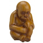 FIGURINE GORILLE BEBE CONTEMPLATION