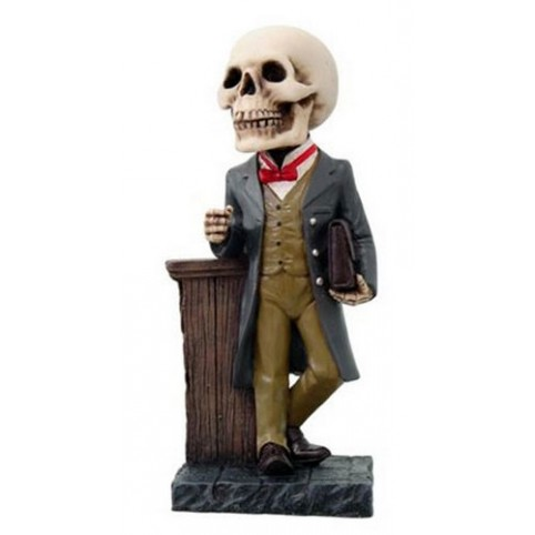 FIGURINE HOMME AFFAIRES SQUELETTE