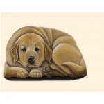 PRESSE PAPIER GOLDEN RETRIEVER