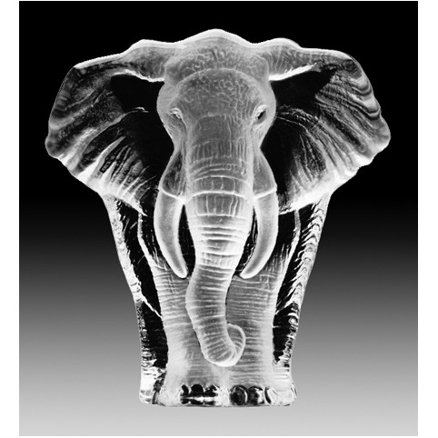FIGURINE CRISTAL ELEPHANT MATS JONASSON