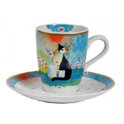 TASSE EXPRESSO CHAT AMICI ROSINA WACHTMEISTER