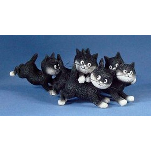 FIGURINE CHAT DUBOUT LA RECREE