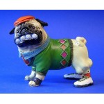 FIGURINE CARLIN PUTTER PUG