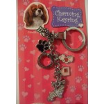 PORTE CLES CAVALIER KING CHARLES