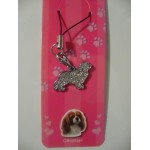 BIJOU TELEPHONE PORTABLE CAVALIER KING CHARLES