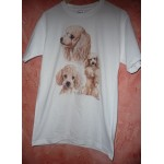 TEE SHIRT CANICHES