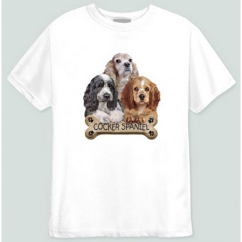 TEE SHIRT COCKER SPANIEL