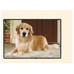 TAPIS DE PORTE GOLDEN RETRIEVER