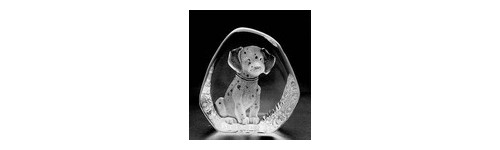 FIGURINE CRISTAL ANIMAUX DIVERS