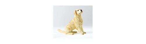 FIGURINES GOLDEN RETRIEVER