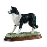 FIGURINE BORDER COLLIE