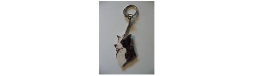PORTE CLES BORDER COLLIE