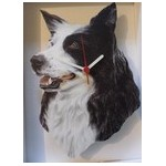 HORLOGE BORDER COLLIE