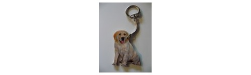PORTE CLES GOLDEN RETRIEVER