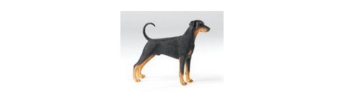 FIGURINES DOBERMAN