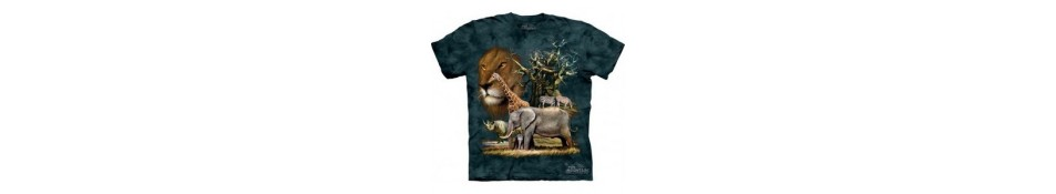 TEE-SHIRT ANIMAUX SAVANE