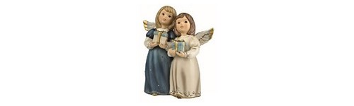 FIGURINES ANGES COULEUR BLEU