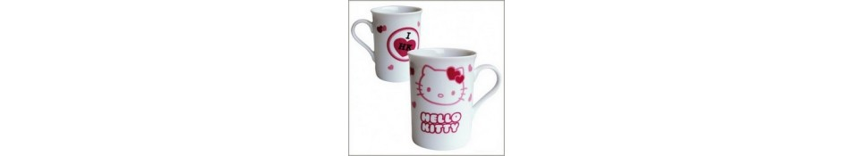 VAISSELLE CHAT HELLO KITTY