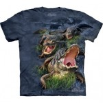 TEE-SHIRT CROCODILE
