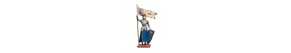 FIGURINES JEANNE D'ARC
