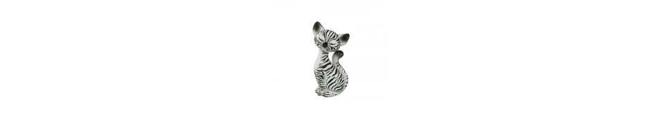 FIGURINE CHAT KITTY DE LUXE