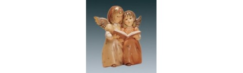 FIGURINES ANGES COULEUR CHAMPAGNE