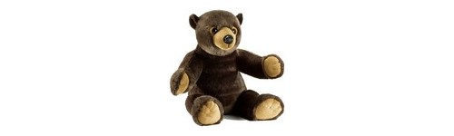 PELUCHE OURSON CHOCOLAT