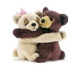 PELUCHE OURS AMOUREUX