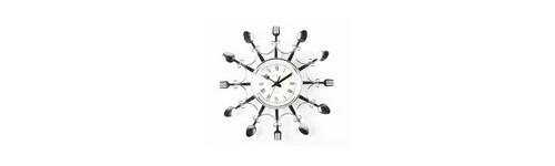 Horloge couvert achat vente d 39 horloges couvert pour la cuisine for Horloge couvert