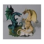STATUETTE DRAGON COULEUR