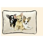COUSSIN DECORATIF CHIHUAHUA