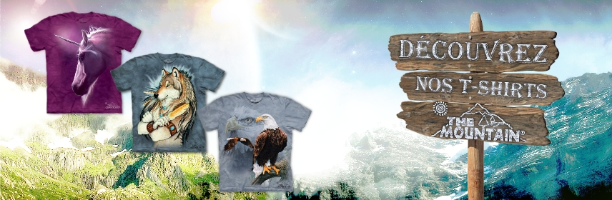 T-shirt animaux The Mountain