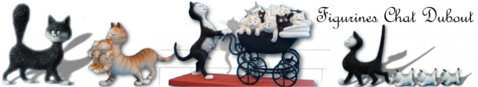 FIGURINES CHAT DUBOUT